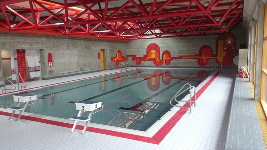 Lernschwimmbad Schulhaus Wolfetsloh